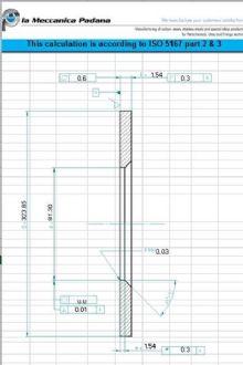 Calcoli ISO 5167 per orifice plates