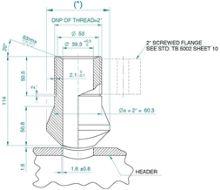 Riduzioni concentriche e nippli filettati